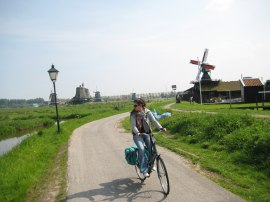 Cycling among windmills