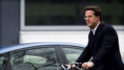 Cycle Chic: the resigned prime minister on his ladies bike
